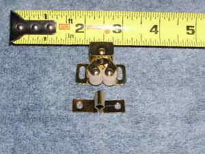 RV Bus Twin Roller Spear Strike Door Catch Cabinet Cupboard Drawer Lock Latch