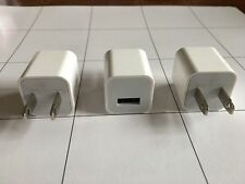 3 X Lot OEM Apple USB Power Adapter Charger Wall Cube iPhone 5S 6 6S 7 7S 8 PLUS