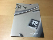 Booklet PATEK PHILIPPE New Model 2005 - Calatrava Ref. 5127 - All Languages