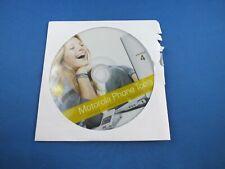 Original Motorola Cd  Software Version 4 RAZR V3 i V3i Mehrsprachig Phone Tools