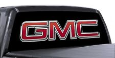 VuScapes Truck Rear Window Graphic - 4 SIZES AVIAL. - GMC BLACK