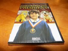 HOW I SAVED THE PRESIDENT FAMILY FRIENDLY Film Movie DVD SEALED NEW