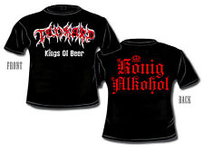 TANKARD - Kings Of Beer - T-Shirt - Plus Size XXXL - 3XL - Übergöße