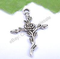 FREE SHIP 10Pcs Tibetan Silver Charms Pendants 35x23MM CA45