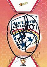 ✺Signed✺ 2007 2008 ADELAIDE UNITED A-League Card AURELIO VIDMAR
