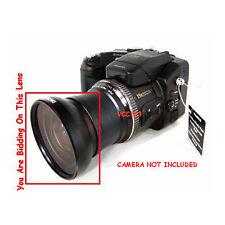 Wide angle lens for Kodak P712 P850 camera + tube