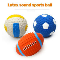 Pet Interactive Toy Ball Rubber Ball Pet Dog Toy Training Chew Play Bite Toy