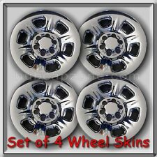 "Fits 2014-2015 Nissan Xterra Wheel Skins Chrome 16"" Hubcaps Wheel Covers Set 4"