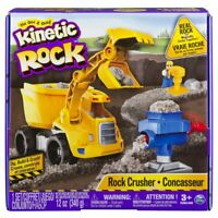 Kinetic Sand Kinetic Rock Crusher Set Ages 3+ Toy Play Truck Construction Build