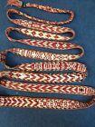 Antique Handmade Qashqai Animal Band Wool And Cotton