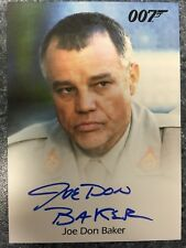 2016 James Bond Archives Spectre Edition Joe Don Baker Autograph