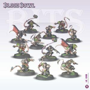 BITS BLOOD BOWL SKAVEN TEAM THE SKAVENBLIGHT SCRAMBLERS BITZ