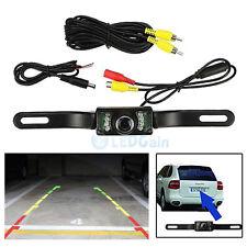 CMOS Car Rear View Reverse Backup Camera Parking Night Vision Waterproof 7 LED