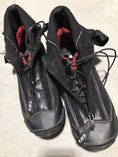 Garneau Ergo Grip 0degree SPD Winter Cycling Shoes Black/Red Men's EU 43 M10