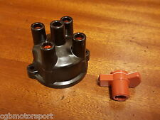 RENAULT 5 GT TURBO NEW IGNITION DISTRIBUTOR CAP + ROTOR ARM TIMING BLACK COLOUR