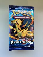 Lot of 14 Pokémon TCG XY Evolutions Booster Packs Sealed and Unweighed