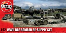 Airfix 05330 WWII RAF Bomber Re-Supply Set for Dioramas 1/72 Scale Model Kit