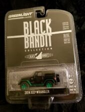 """GREENLIGHT ** BLACK BANDIT """"CHASE"""" 2014 JEEP WRANGLER ** AWESOME JEEP !!!"""
