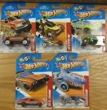 Hot Wheels: 2012 Thrill Racers Beach 5 Totalmente Nuevo Y Sellado