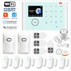Tuya APP WiFi+GSM+GPRS Wireless Home Security Alarm Burglar System+Amazon Alexa