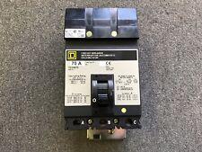 SQUARE D CIRCUIT BREAKER 70 AMP 480V 3 POLE FC34070