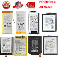 For Motorola Moto All Models Smartphone Cell Phone Li-ion Battery Replacement