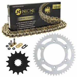 Sprocket Chain Set for Husaberg FE550E 15/48 Tooth 520 X-Ring Front Rear Kit