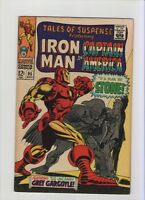 Tales Of Suspense #95 - Iron Man Caps ID Revealed! - 1967 (Grade 6.5) WH