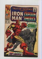 Tales Of Suspense #95 - Iron Man Caps Id Revealed! - 1967 (Grade 6.5) Wh