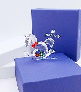 New SWAROVSKI 5544529 Happy Holidays Rocking Horse Figurine Display Collector