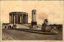 Nieuport Nieuwpoort Monument König Albert 1940 AK gelaufen mit Stempel Berlin