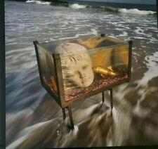 "1988 SIGNED ARTHUR TRESS ""A Golden Carp"" NUMBERED FRAMED ""Fish Tank Sonata"" FINE"