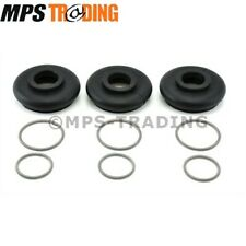 LAND ROVER DEFENDER 90 110 130 TRACK ROD RUBBER BOOT KIT (SET OF 3) - TBOOTKITBP