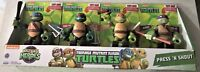 Teenage Mutant Ninja Turtles Press N Shout Ages 3+ New Toy Half Shell Heroes Fun