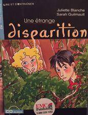 Une étrange Disparition Blanche Guilmault