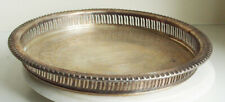 Webster Wilcox  Silver plate Tray Serving Gallery (Brandon Hall)