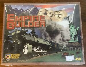 NEW & SEALED Mayfair Boardgame 450 EMPIRE BUILDER 2004 Railroad Strategy Game