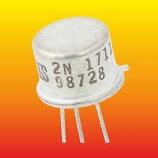 2N1711 LOT=1 SGS SILICON NPN TRANSISTOR 0.8 W 0.6 A ~ 2N3019, 2N3107, 2SC2208