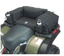 ATV Passenger Seat Rear Rack Back Padded Bottom Bag Storage Cargo Extra Large