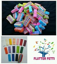 100 block bag of Flutter Fetti paper slow fall Confetti for party celebrations