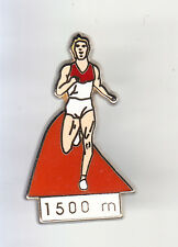 RARE PINS PIN'S .. SPORT OLYMPIQUE OLYMPIC ATHLETISME 1.500 M ARTHUS B. ~CO
