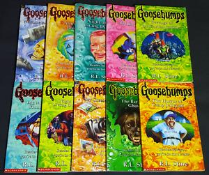 VINTAGE GOOSEBUMPS Books - R.L. Stine - 1992 - 1996