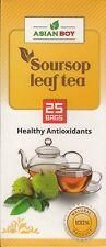 New  Asian Boy Healthy Antioxidants Tea - 25 Bags (Soursop Leaf) Q43