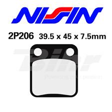 NISSIN PASTIGLIE FRENO POSTERIORE SUPERBYKE 125 RMR 125 2007- 2P206GS BRAKE PADS