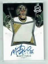 07-08 UD The Cup Limited Logos  Marty Turco  /50   Auto  Patch