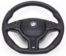 TUNING Lederlenkrad + Airbag BMW E39 E46 M3 M5 X5 UNTEN ABGEFLACHT