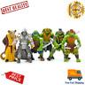 x6PCS Lot TMNT Teenage Mutant Ninja Turtles Action Figures Anime Movie Xmas Gift
