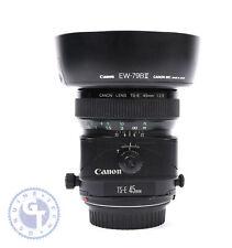 Canon TS-E 45mm f/2.8 Tilt-Shift Lens - UK MODEL