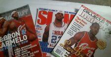 Lot 3 Lebron James Magazines SLAM NBA InsideStuff Collecting Insider 2003 Jordan
