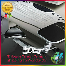 Hilltop Armrest Ergonomic Adjustable Computer Arm Rest Mouse Platform C-Clamp